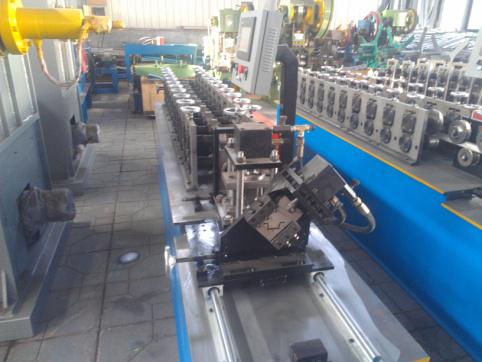 Furring channel light keel roll forming machine