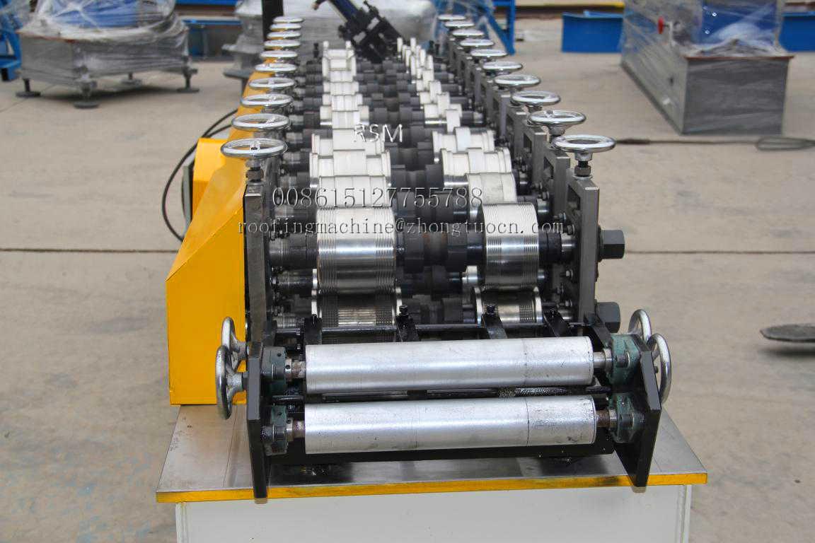 Fully automatic false ceiling elements metal CD CW making machine