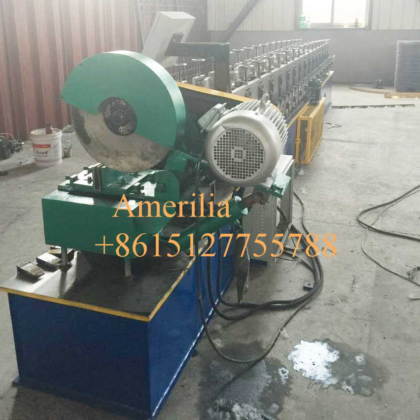 shutter side channel making machine