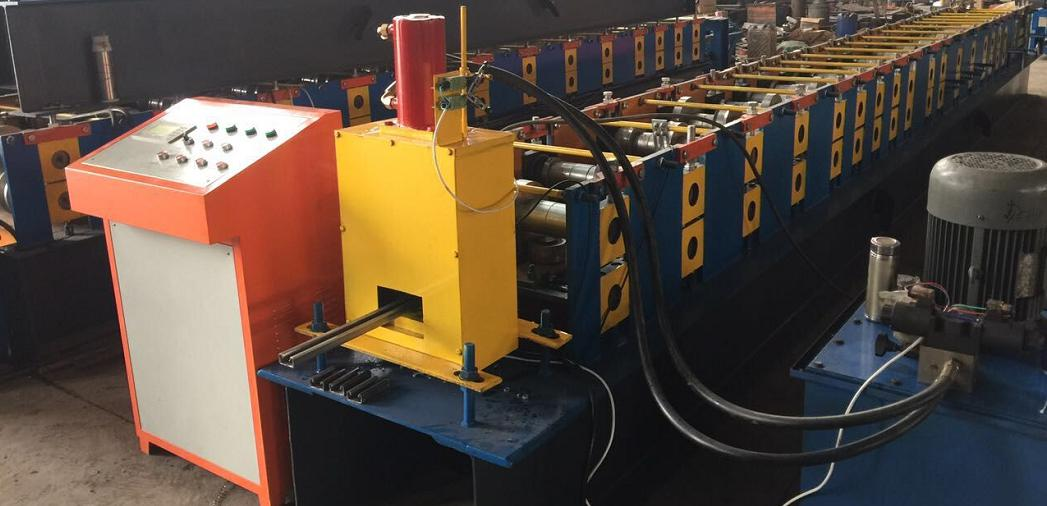 41x41 & 41x21 slotted channel roll forming machine