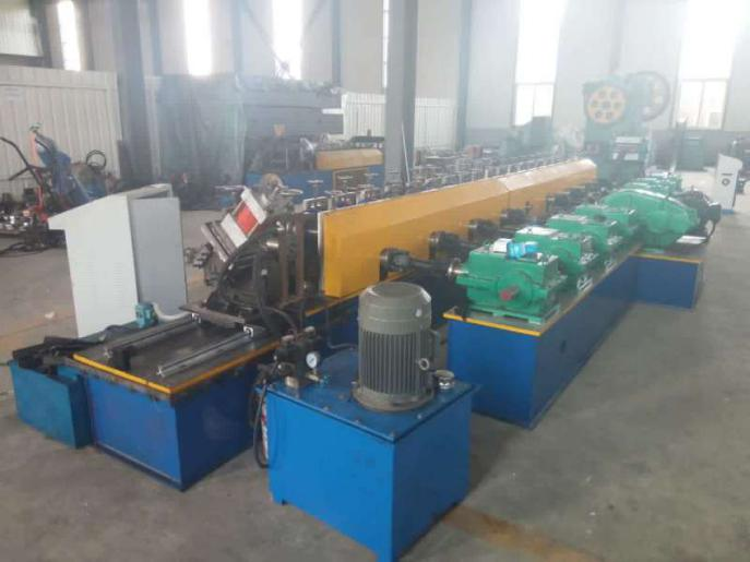 slotted deep unistrut roll forming machine
