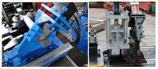 U track roll forming machine