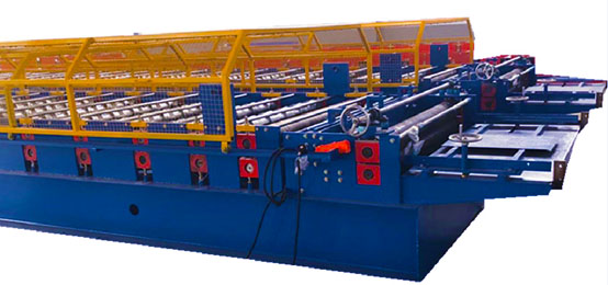 Metal IBR tile making machine