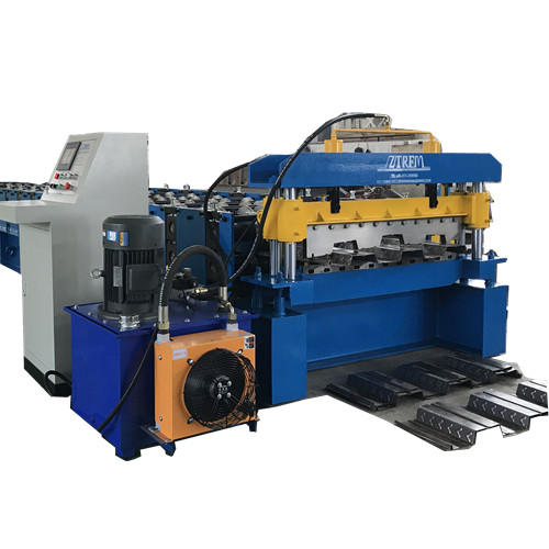 Deck roll forming machine for Colombia for example